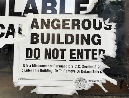 building-hazard